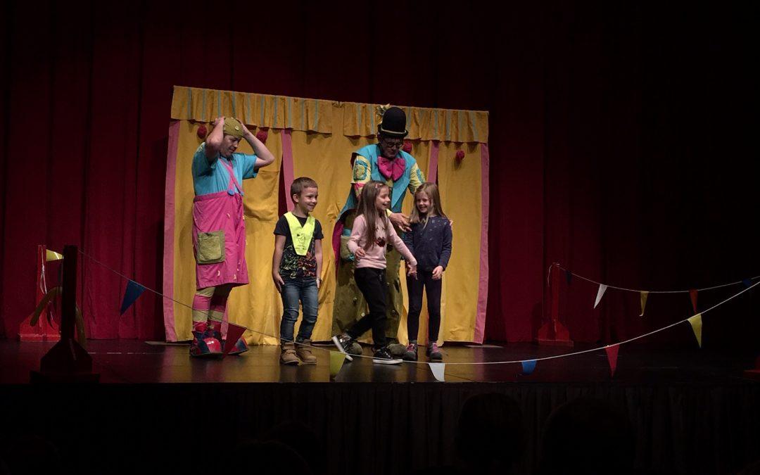 Prvi razred – Ogled predstave Skoraj najboljši cirkus